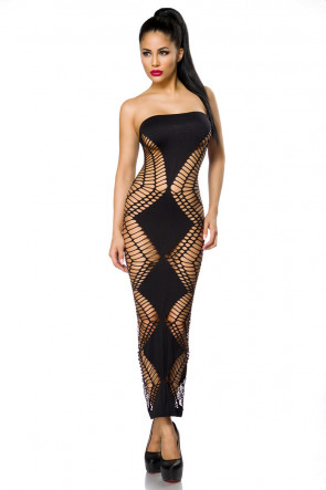 Net Cutout Dress