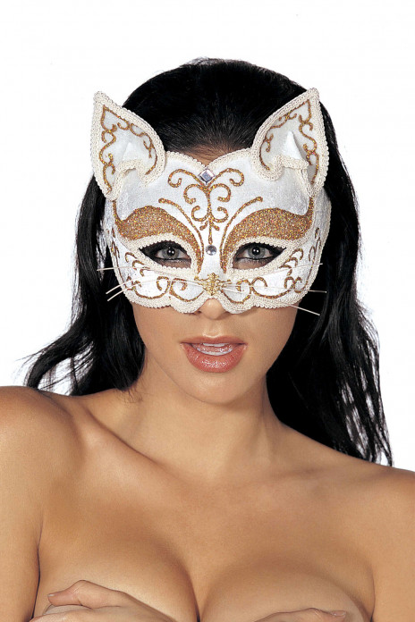 Glitzy Cat Mask