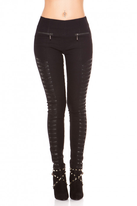 Treggings with Lace