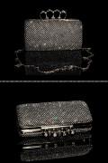 Glamour clutch bag - Black