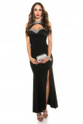Red Carpet Look Evening Dress with Lace