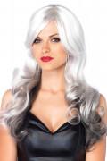 Allure Multi Color Wig Grey & Black
