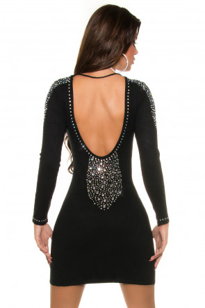 Rhinestone Minidress