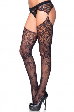 Bouquet Lace Stockings