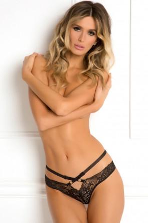 Strap Lust Crotchless Panty