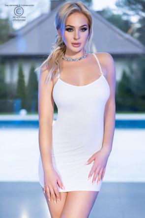 Sexy Mini Dress white