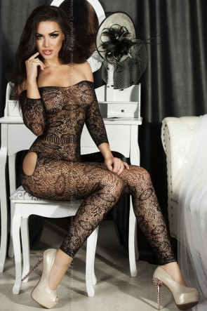Shoulderless Bodystocking