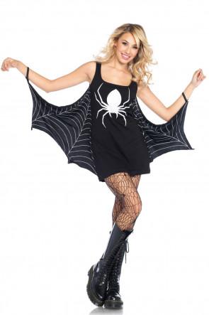 Jersey Spiderweb Kjole
