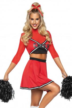 Varsity Cheerleader Babe