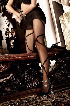 Black Line Pantyhose