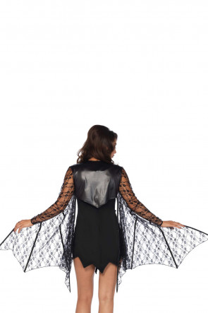 Lace Bat Wing Shrug