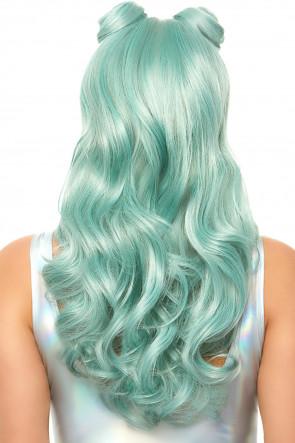 Beachy Waves Long Wig green