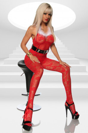 Christmas Bodystocking