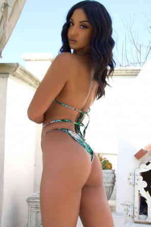 Dublin Strappy Bikini in Beauty Beast Jungle