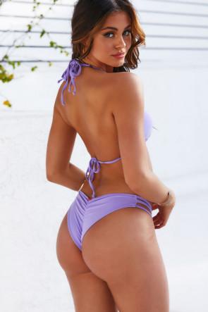Lilac Strap Bikini & Classic Scrunch
