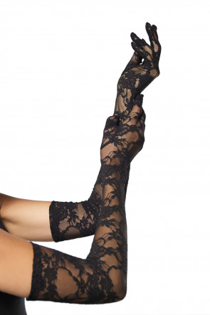 Lace Elbow Gloves