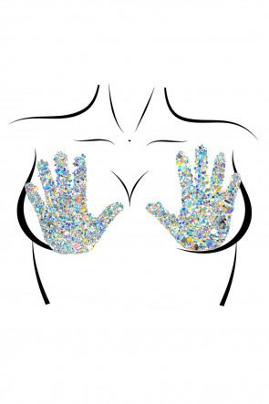 Handsy Nipple Jewels Sticker