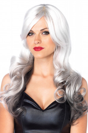 Allure Multi Color Wig Grey & Black