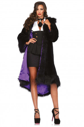 Deluxe Faux Fur Coat