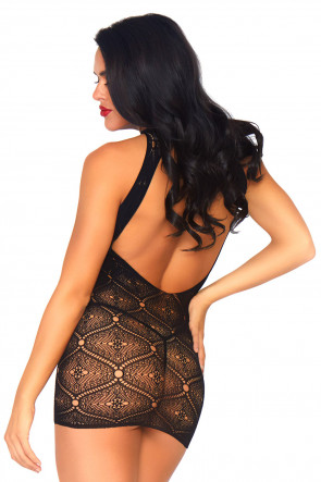Moroccan Lace Minidress Set
