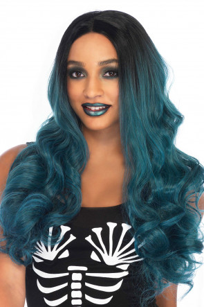 Blended 2-tone Long Wavy Wig
