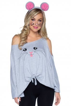 Leg Avenue Mouse Poncho and ears