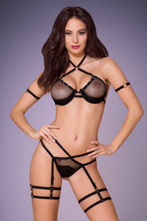 3pc Strappy Set with Spicy Studs