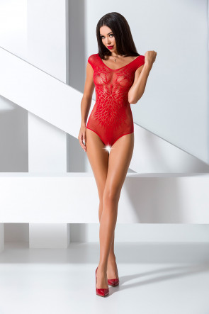 Bodystocking BS064 Red