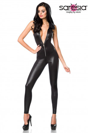 Wetlook Hooded Catsuit