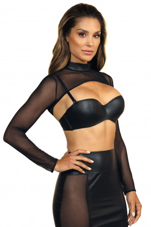Queen of the Night - Mesh Bolero