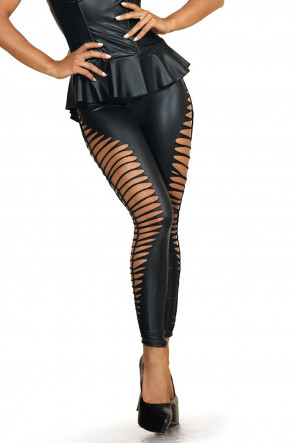 Queen of the Night - Side Cut Leggings