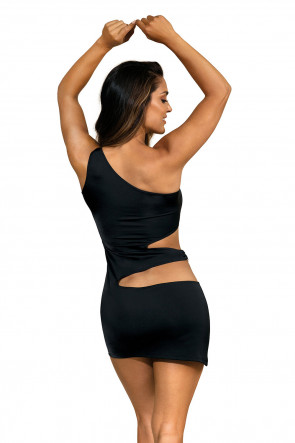 Party At Ibiza - Minidress Cutout Black
