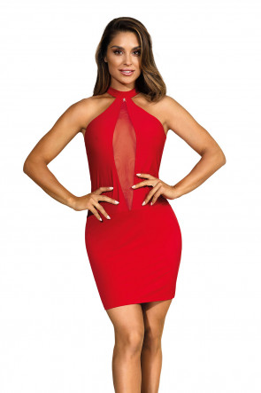 Party At Ibiza - Minidress Elegant Red