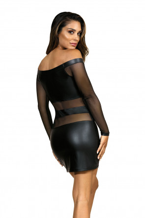 Party At Ibiza - Minidress Black