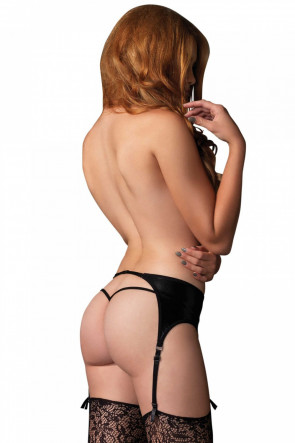 Wetlook Garter Belt